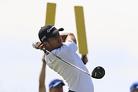 Xander Schauffele (USA) tees off the 7th tee during Friday's Round 2 of the 117th U.S. Open Championship 2017 held at Erin Hills, Erin, Wisconsin, USA. 16th June 2017.<br /> Picture: Eoin Clarke | Golffile<br /> <br /> <br /> All photos usage must carry mandatory copyright credit (&copy; Golffile | Eoin Clarke)