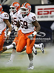 Illinois Fighting Illini defensive tackle Tim Kynard (59) runs out onto the field during the 2010 Texas  Bowl football game between the Illinois  Fighting Illini and the Baylor Bears at the Reliant Stadium in Houston, Tx. Illinois defeats Baylor 38 to 14....