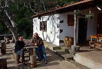 Spanien, Kanarische Inseln, Gomera, Bar La Vista in Caserio de El Cedro
