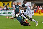 20.07.2018, Zillertalarena, Zell am Ziller, AUT, FSP, 1.FBL, SV Werder Bremen (GER) vs 1. FC Koeln (GER), im Bild<br /> <br /> Maximilian Eggestein (Werder Bremen #35)<br /> Sehrou Guirassy (Koeln #19)<br /> Foto © nordphoto / Kokenge
