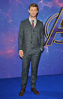 Chris Hemsworth at the &quot;Avengers: Endgame&quot; UK fan event, Picturehouse Central, Corner of Shaftesbury Avenue and Great Windmill Street, London, England, UK, on Wednesday 10th April 2019.<br /> CAP/CAN<br /> &copy;CAN/Capital Pictures