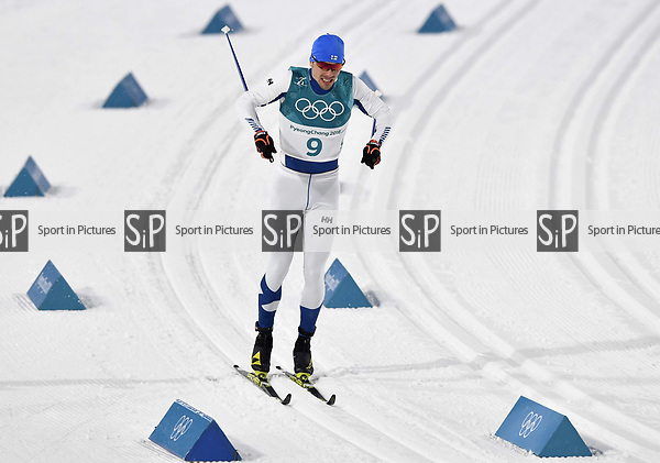 Ristomatti Hakola (FIN). Mens sprint classic qualification. Cross country skiing. Alpensia Croos-Country skiing centre. Pyeongchang2018 winter Olympics. Alpensia. Republic of Korea. 13/02/2018. ~ MANDATORY CREDIT Garry Bowden/SIPPA - NO UNAUTHORISED USE - +44 7837 394578