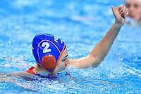 2 NED MEGENS Maud Netherlands  <br /> Budapest 13/01/2020 Duna Arena <br /> GERMANY (white caps) Vs. NETHERLANDS (blue caps)<br /> XXXIV LEN European Water Polo Championships 2020<br /> Photo  © Andrea Staccioli / Deepbluemedia / Insidefoto