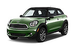 2015 MINI Paceman Cooper 3 Door Hatchback Angular Front stock photos of front three quarter view