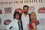 Colleen Zenk and Austin Peck and Terri Conn - Hoboken International Film Festival opening night June 3 and continuing through June 9, 2016 at the Paramount Theatre in Middletown, New York honoring Martin Kove and Danny Aiello. (Photo by Sue Coflin/Max Photos)