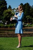 CAROLINE WOZNIACKI (DEN)<br /> <br /> TENNIS , AUSTRALIAN OPEN,  MELBOURNE PARK, MELBOURNE, VICTORIA, AUSTRALIA, GRAND SLAM, HARD COURT, OUTDOOR, ITF, ATP, WTA, 2018, ASIAN SLAM<br /> <br /> &copy; TENNIS PHOTO NETWORK