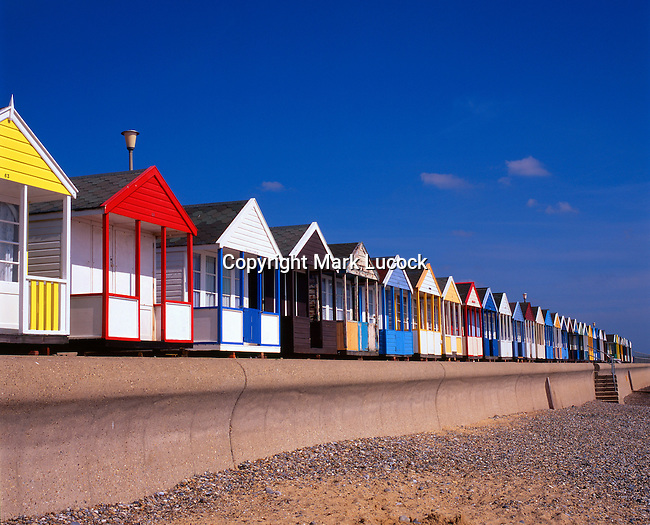 Colourful bathing huts, Southwold, Suffolk