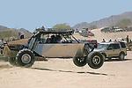 CAR RACING ON SAND DUNES IN SAN FELIPE