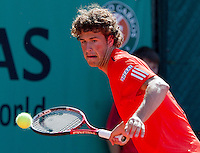 24-05-10, Tennis, France, Paris, Roland Garros, First round match, Robin Haase