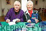 "Book Launch : Barbara Derbyshhire, Moyvane signing copies of her book ""Tapestry of Love, Life & Spirit"" at the Seanchai Centre, Listowel on Saturday afternoon last with Marion Relihan."