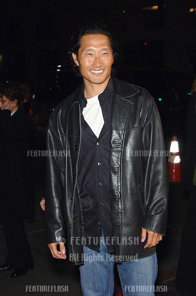 """Lost"" star DANIEL DAE KIM at the Los Angeles premiere of ""Blood Diamond"" at Grauman's Chinese Theatre, Hollywood..December 6, 2006  Los Angeles, CA.Picture: Paul Smith / Featureflash"