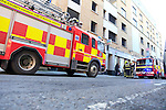 Two units of Drogheda Fire service were called to reports of a vehicle fire in the carpark of the Fitzwilliam Court in Dyer street.<br /> Picture www.newsfile.ie