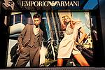 Emporio Armani 01 - Emporio Armani shopfront in Wesley Arcade, Perth, Western Australia
