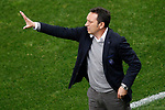 Real Sociedad's coach Eusebio Sacristan during La Liga match. April 4,2017. (ALTERPHOTOS/Acero)