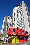 Predios de apartamentos na cidade de Jundiai. Sao Paulo. 2015. Foto de Marcia Minillo.