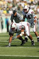 2 September 2006: Matt Kopa (93) and Pat Maynor (44) during Stanford's 48-10 loss to the Oregon Ducks at Autzen Stadium in Eugene, OR.