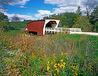 Cedar Covered Bridge in Madison County near Winterset, Iowa
