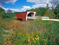 Cedar Covered Bridge in Madison County near Winterset, Iowa