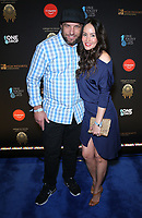 08 March 2019 - Las Vegas, NV - TJ Lavin, Roxanne Lavin. 2019 One Night for One Drop blue carpet arrivals at Bellagio Las Vegas. Photo Credit: MJT/AdMedia