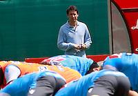 DIMARO 11/07/2012.RITIRO PRE CAMPIONATO PER IL CALCIO NAPOLI.NELLA FOTO RICCARDO BIGON.FOTO CIRO DE LUCA