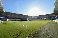 20190608 - REIMS , FRANCE : illustration shows the Stade Auguste Delaune before  the female soccer game between Norway – the Grashoppene - and Nigeria – The Super Falcons - , the first game for both teams in group A during the FIFA Women's  World Championship in France 2019, Saturday 8 th June 2019 at the Auguste Delaune Stadium in Reims , France .  PHOTO SPORTPIX.BE | DIRK VUYLSTEKE