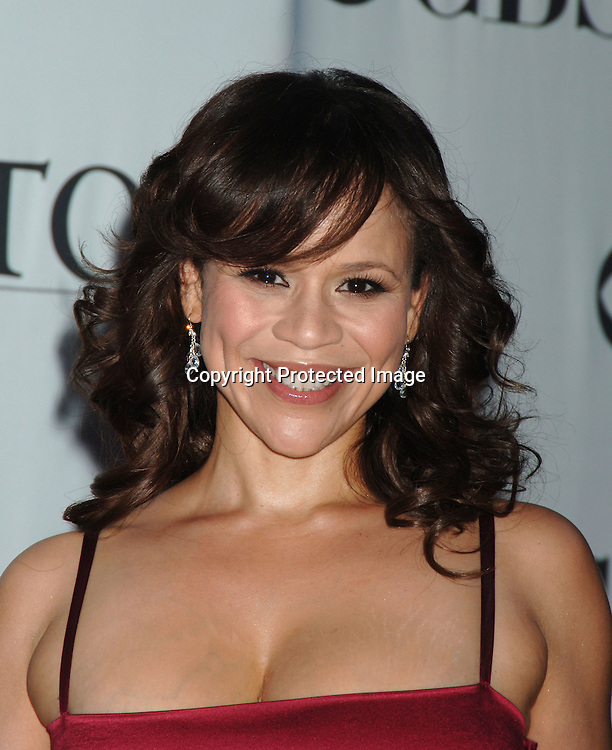 Rosie Perez..arriving at the 60th Annual Tony Awards on June11, 2006..at Radio City Music Hall. ..Robin Platzer, Twin Images
