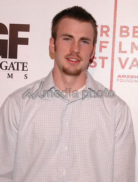 "24 April 2005 - New York, New York -Chris Evans arrives at the premiere of the film, ""Fierce People"", part of the Tribeca Film Festival in downtown Manhattan.  Photo Credit: Patti Ouderkirk/AdMedia"
