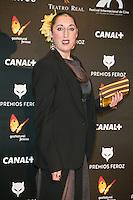 Rossy de Palma attends the Feroz Cinema Awards 2015 at Las Ventas, Madrid,  Spain. January 25, 2015.(ALTERPHOTOS/)Carlos Dafonte) /NortePhoto<br /> <br /> nortePhoto.com