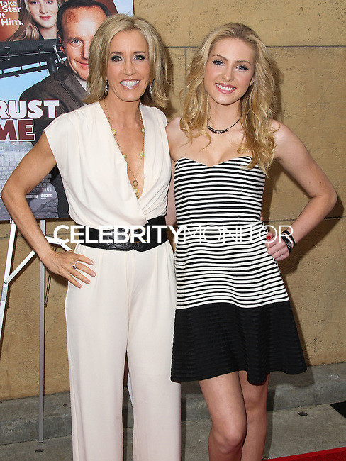HOLLYWOOD, LOS ANGELES, CA, USA - MAY 22: Felicity Huffman, Saxon Sharbino at the Los Angeles Premiere Of 'Trust Me' held at the Egyptian Theatre on May 22, 2014 in Hollywood, Los Angeles, California, United States. (Photo by Xavier Collin/Celebrity Monitor)