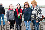 Éabha Lyne, Maria Nix, Úna O'Neill and Dora Moynihan (Brandon) enjoying the Regatta Fionn Trá, Ventry, on Sunday afternoon.