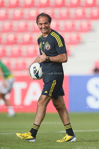 Maurizio Guido (JPN), <br /> JUNE 11, 2013 - Football / Soccer : <br /> FIFA World Cup Brazil 2014 Asian Qualifier <br /> Final Round Group B <br /> between Iraq 0-1 Japan <br /> at Al-Arabi Stadium, Doha, Qatar. <br /> (Photo by YUTAKA/AFLO SPORT)