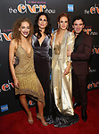 Micaela Diamond, Stephanie J. Block, Teal Wicks and Jarrod Spector Attends the After Party for the Broadway Opening Night  of 'The Cher Show' at Pier 60 on December 3, 2018 in New York City.