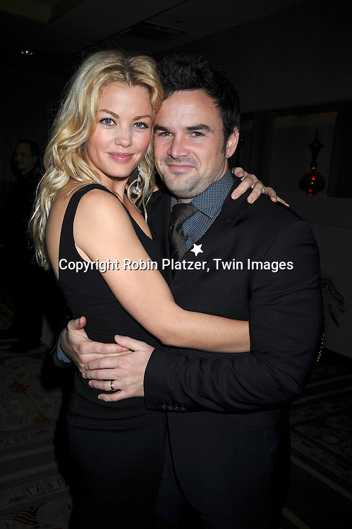 Bree Williamson and husband