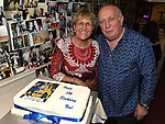 Noel Thompson celebrating his 60th birthday with his wife Catriona at the Thompson family reunion in the Pheasant. Photo:Colin Bell/pressphotos.ie