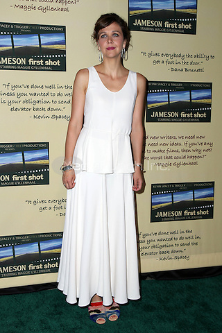 HOLLYWOOD, CA - JULY 20: Maggie Gyllenhaal<br /> at Jameson's &quot;First Shot&quot; Competition Screening Party at Paramount Studios in Hollywood, California on July 30, 2016. Credit: David Edwards/MediaPunch