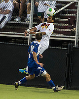 Winthrop University Eagles vs the Brevard College Tornados at Eagle's Field in Rock Hill, SC.  The Eagles beat the Tornados 6-0.  Header by C.J. Miller (5)