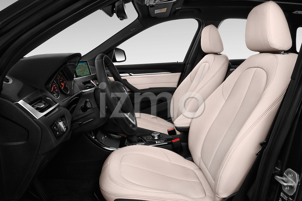 Front seat view of 2016 BMW X1 xLine 5 Door Suv Front Seat  car photos