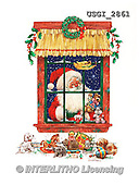 GIORDANO, CHRISTMAS SANTA, SNOWMAN, WEIHNACHTSMÄNNER, SCHNEEMÄNNER, PAPÁ NOEL, MUÑECOS DE NIEVE, paintings+++++,USGI2861,#X# ,#161#