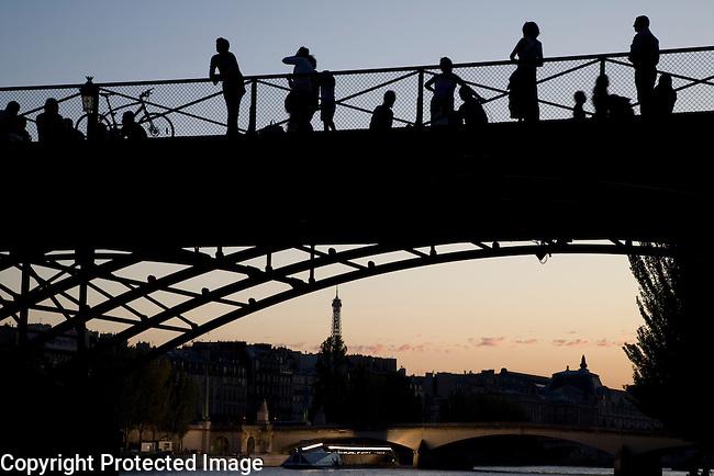 Pont Arts Bridge; Paris; France