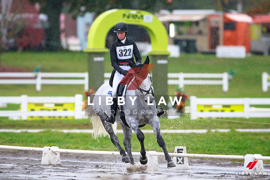 Renee Faulkner rides Rubinstar HH during the NRM CIC3* Dressage at the 2017 NZL-NRM National Three Day Event Championships. National Equestrian Center, Taupo. Friday 12 May. Copyright Photo: Libby Law Photography