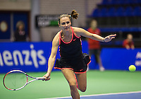 Rotterdam, Netherlands, December 18, 2015,  Topsport Centrum, Lotto NK Tennis, Olga Kalyuzhnaya (NED)<br /> Photo: Tennisimages/Henk Koster