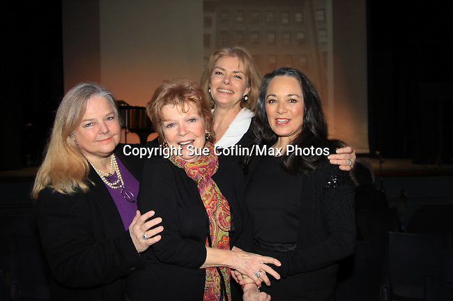"""GL Elvera Rousell and A/W & Search Anita Gillette came to see the show while GL Denise Pence along with her husband Steve Boockvar were producers while Young and Restless Victoria Mallory """"Leslie Brooks"""" starred in """"Good Girls Only - the Rehearsal Club Musical"""" - on March 13, 2013 at the Professional Children's School, New York City, New York. (Photo by Sue Coflin/Max Photos)  917-647-8403"""
