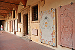 Cloister next to the Verona Cathedral
