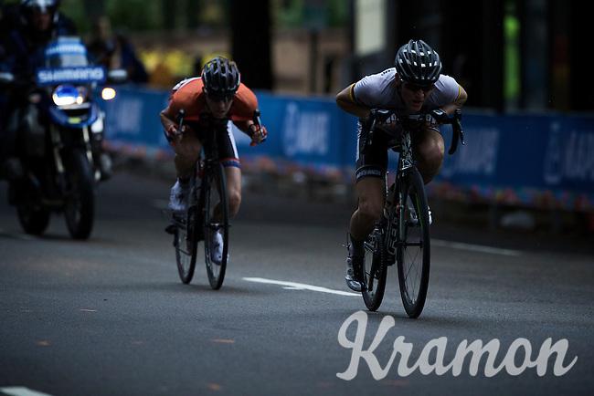 Junior Men Road Race<br /> UCI Road World Championships Richmond 2015 / USA