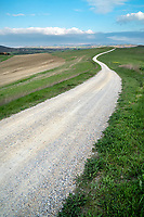 Italian gravel roads are called Strade Bianche, and the Tuscan region is home to famous cycling tours on these roads.