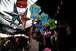 A Palestinian man sells a traditional Ramadan lantern in his shop at a market in Gaza City, as Muslims prepare for the upcoming holy fasting month of Ramadan, on June 28, 2014. on the eve of the start of the Muslim holy month of Ramadan. During Ramadan, Muslim believers abstain from eating, drinking, smoking and having sex from dawn until sunset. Ramadan is sacred to Muslims because it is during that month that tradition says the Koran was revealed to the Prophet Mohammed. Photo by Ali Jadallah