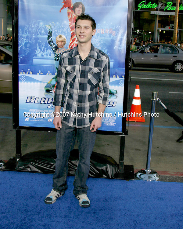"Justin Berfield.""Blades of Glory""  Premiere.Grauman's Chinese Theater.Los Angeles, CA.March 28, 2007.©2007 Kathy Hutchins / Hutchins Photo."