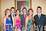 Teen Fun L-R Grace Quinlan,David Smith,Amy Culloty,Conor Nolan,Julian Carroll and Ross Culloty all pupils of MountHawk secondary school,Tralee,in the AbbeyGate hotel,Tralee last Friday night for their Debs Ball..