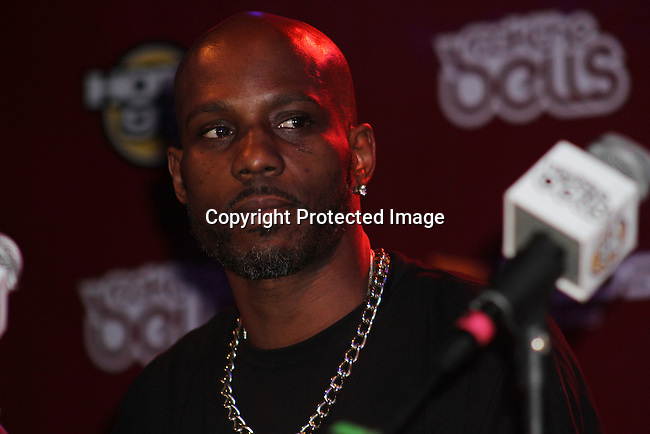 DMX Attends Boost Mobile in association with Guerilla Union Presents An East Coast ROCK THE BELLS FESTIVAL SERIES Press Conference and Fan Appreciation Party at Santos Party House, NY D. Salters/WENN 6/13/12