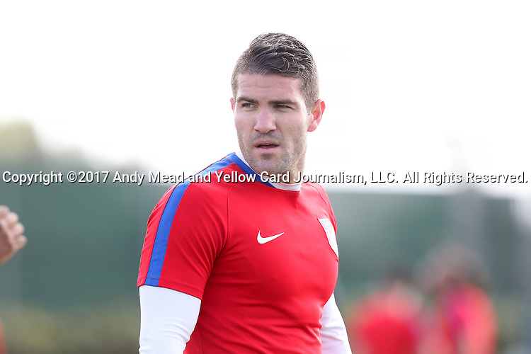 11 January 2017: Greg Garza. The United States Men's National Team held their first training session under new head coach Bruce Arena on The Murphy Family Field at the StubHub Center in Carson, California.
